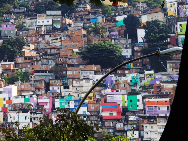 Entrada do Morro Dona Marta.