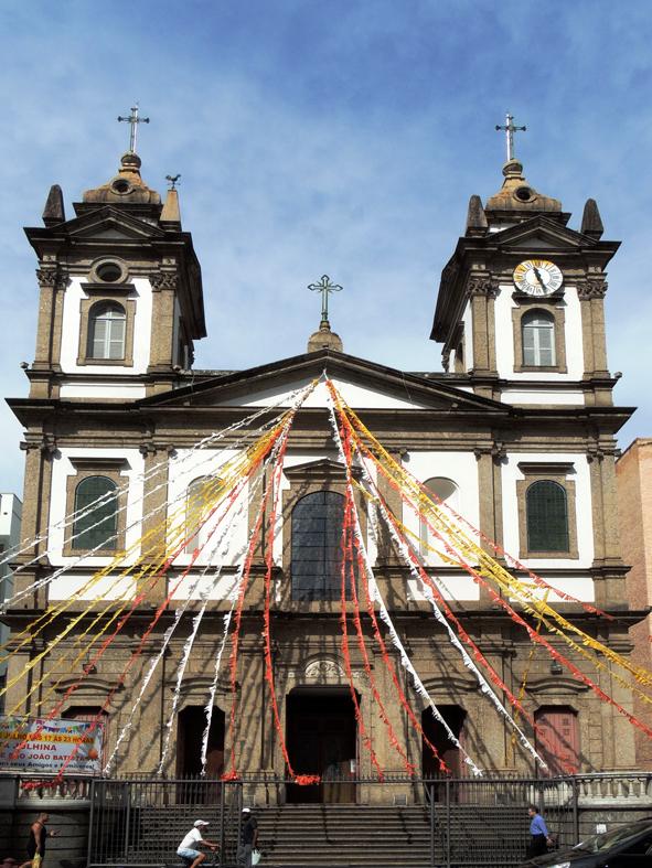 Igreja da Matriz - Rua Voluntários da Pátria, em frente à rua da Matriz, Botafogo.