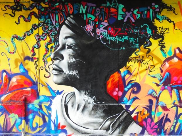 Grafite na Rua Sorocaba.