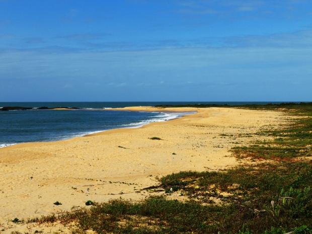 Praia do Além vista da ES-060