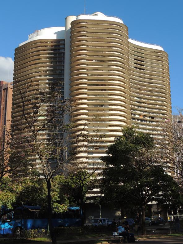 Edifício Niemeyer Praça da Liberdade