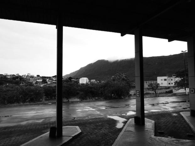 Vista da Rodoviária de Ouro Branco