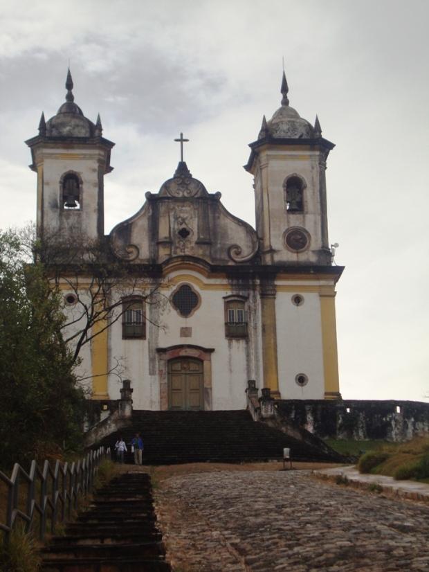 Ladeira em frente à Igreja de São Francisco de Paula