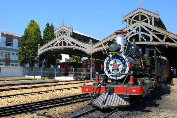 Maria Fumaça - locomotiva 68