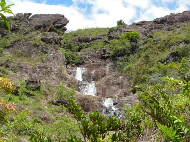 Cachoeira do Bom Despacho, na Estrada Real. Em 2010, com chuva e toda a exuberância.