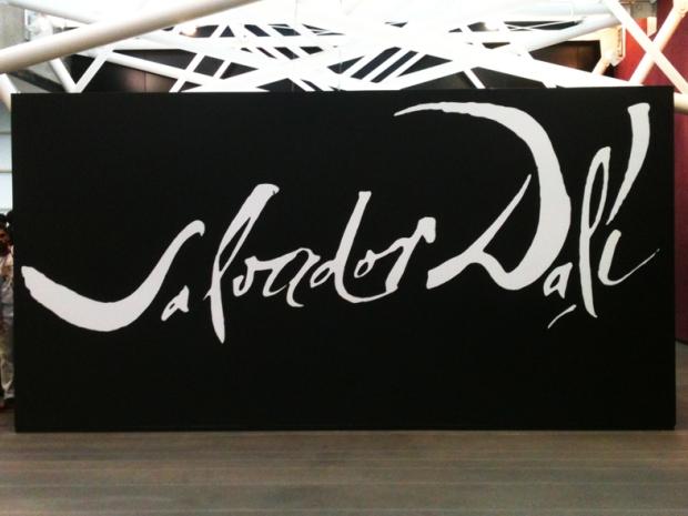 Entrada para a exposição de Salvador Dalí. Instituto Tomie Ohtake.