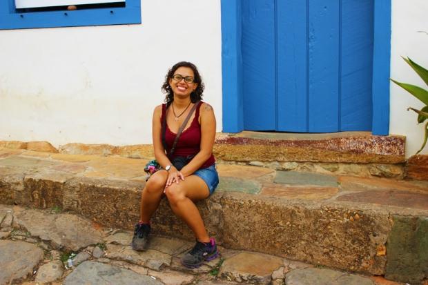 Karina em Tiradentes