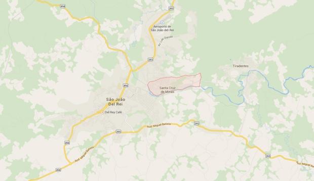 Santa Cruz de Minas, espremida entre as irmãs mais famosas, São João del Rei e Tiradentes.