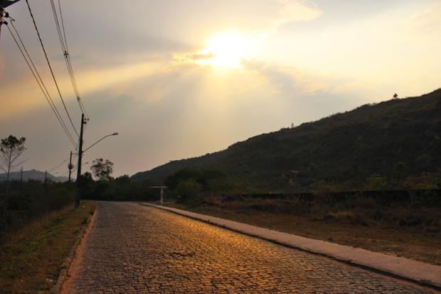 Estrada Real ao Pôr-do-Sol, sentido Santa Cruz de Minas.