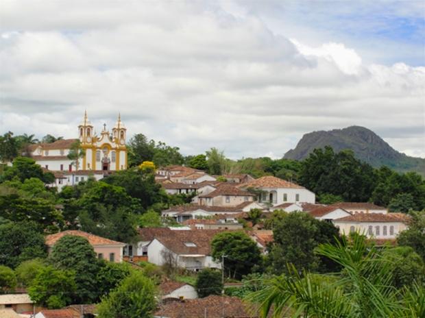 Vista geral de Tiradentes