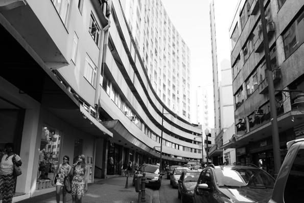 Uma das ruas do Centro. Petrópolis é uma grande cidade com muito o que ver.