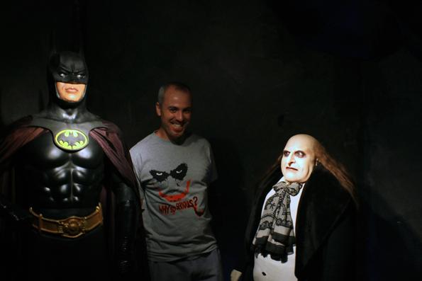 Olha que coincidência!! Batman, Pinguim e Coringa!