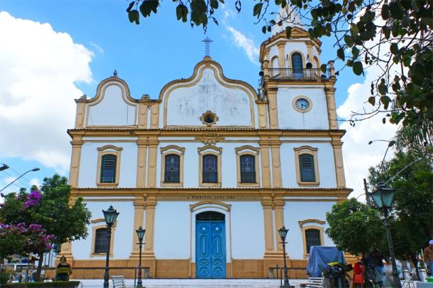 Igreja Matriz de Santana do Parnaíba.
