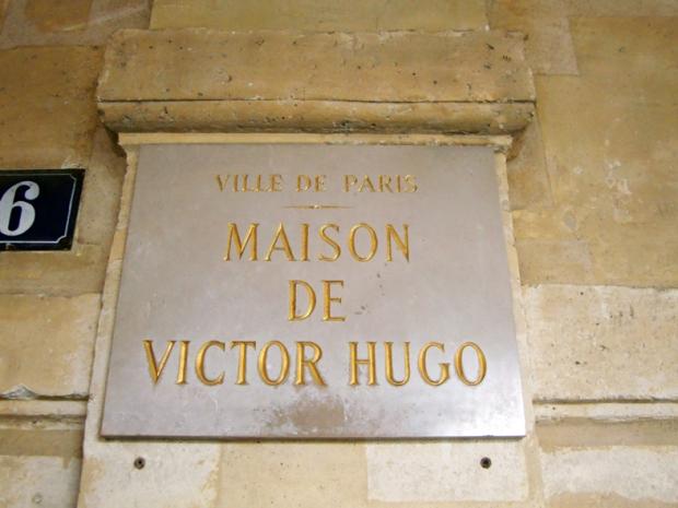 Aqui morou o famoso escritor Victo Hugo