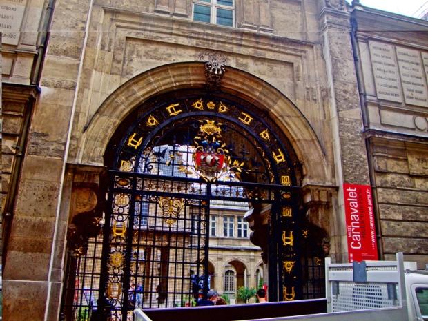 Entrada do Museu Carnavalet