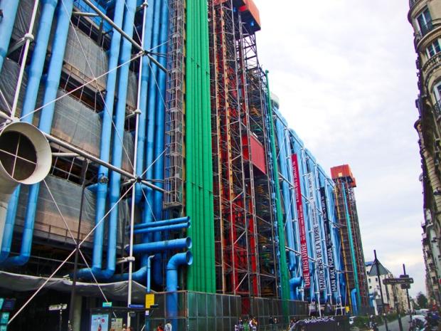 O centro Pompidou