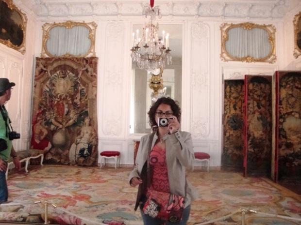 Eu combinando com Versailles.