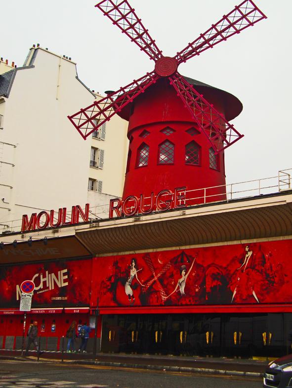 O Moulin Rouge. Eu juro que esperava mais do que isso...