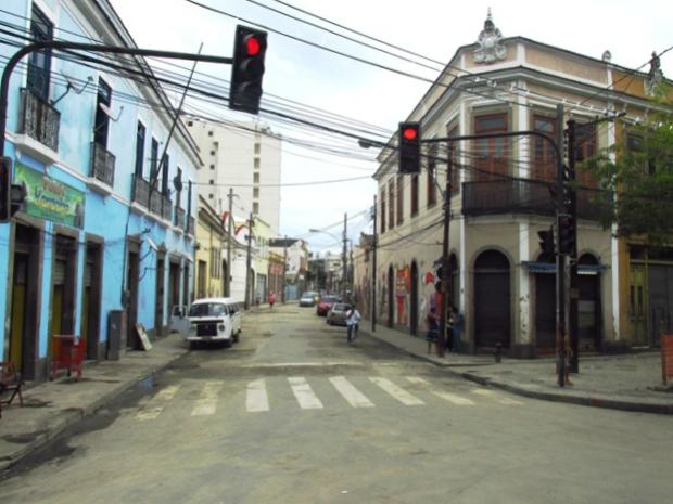 O IPN fica nessa rua, a Pedro Ernesto.