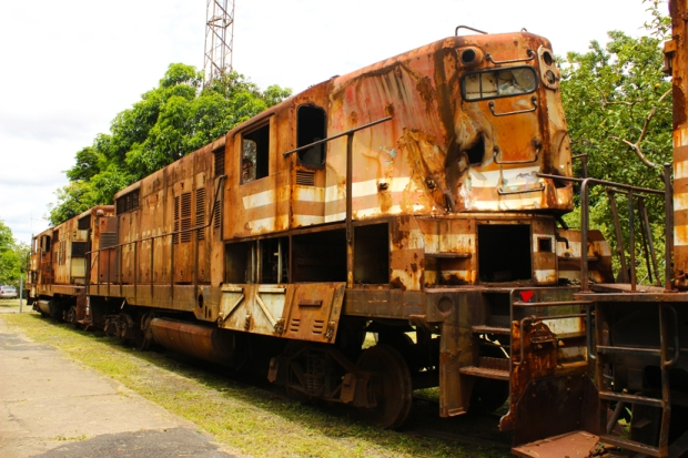 locomotiva museu do trem jundiai