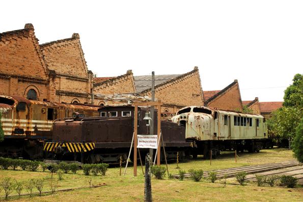 Uma das atrações de Jundiaí é Museu Ferroviário.