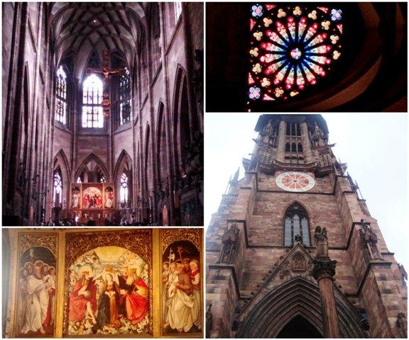 Alguns detalhes da Catedral. Estava bem cheio lá dentro.