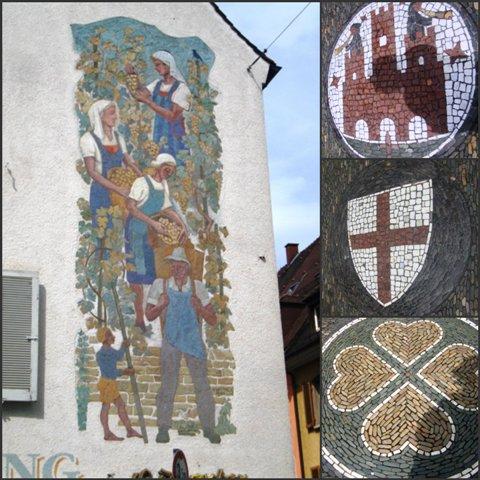 No chão ou nas paredes, em Freiburg tudo tem toque de arte.