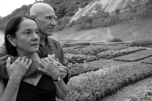 Lélia e Sebastião Salgado. Aymorés. Minas Gerais. Brasil. Outubro de 2006.