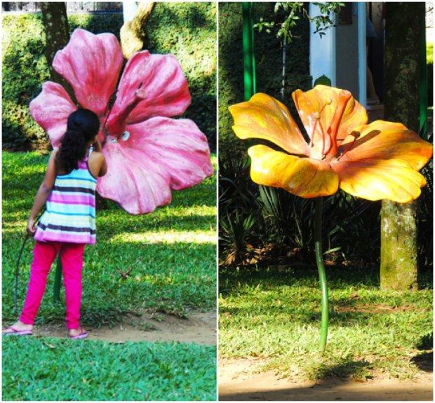flores gigantes