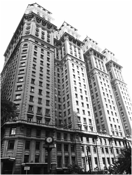 Imponente Edifício Martinelli.