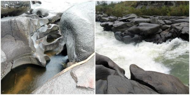 rocha esculpida rio varadouro itaoca