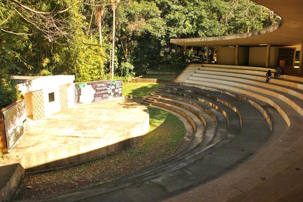 Anfiteatro-lanchonete
