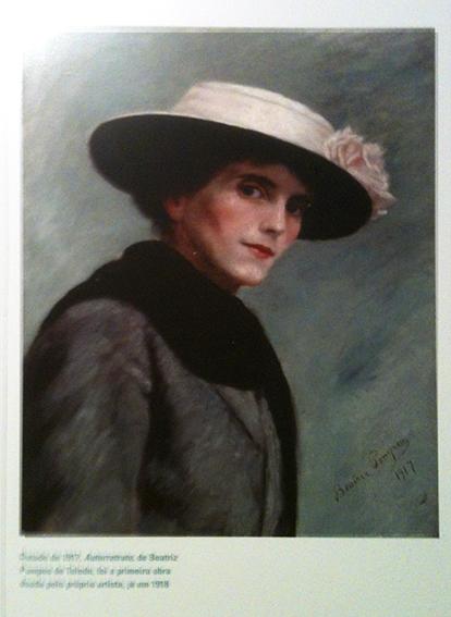 Auto retrato  de Beatriz Pompeu de Camargo