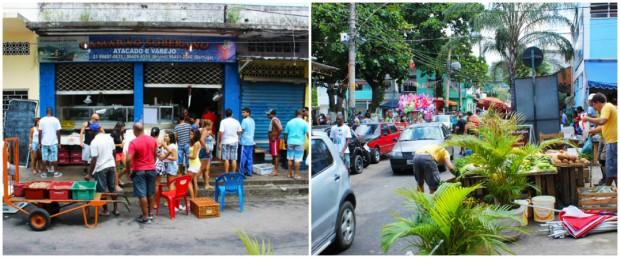 mercado de peixe pedra de guaratiba