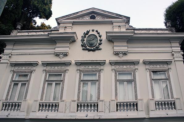 Fachada do museu, ex-sede do governo fluminense.