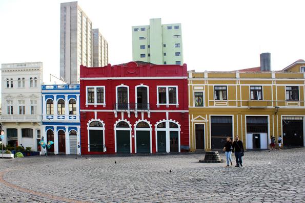 Largo da Ordem - Centro de Curitiba.