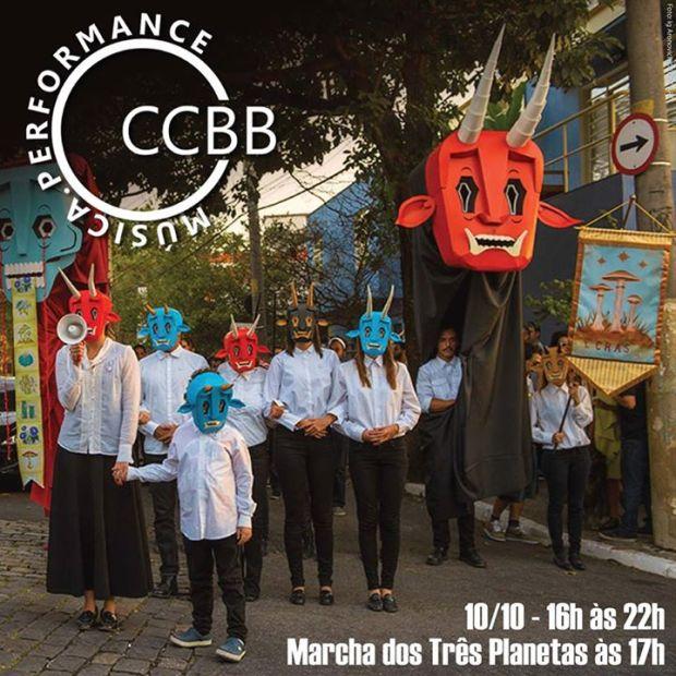 CCBB marcha 3 planetas
