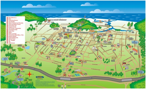 mapa joinville