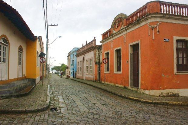 Pequenas ruas do Centro Histórico de São Francisco do Sul