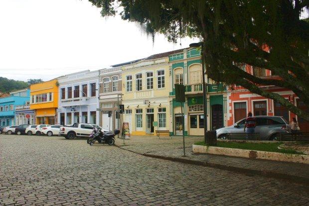 Vista da Rua da Babitonga.