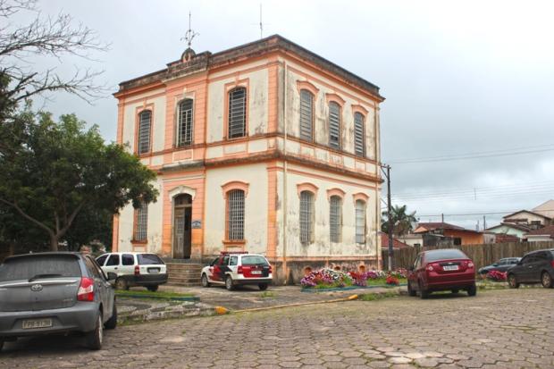 Sede da Secretaria de Segurança Pública de Apiaí.