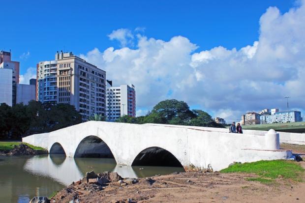 Ponte de Pedra Porto Alegre Bussola Quebrada