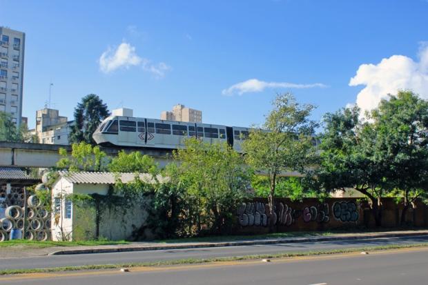 Porto Alegre Bussola Quebrada monotrilho