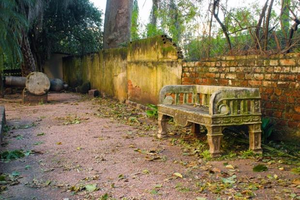 banco jardim do Museu Julio de Castilhos