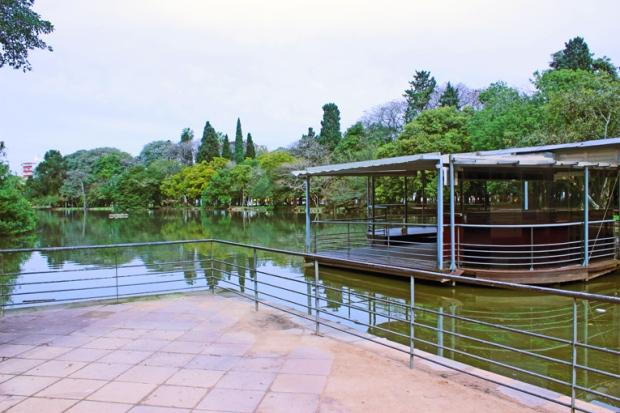 Lago pedalinhos Porto Alegre Bussola Quebrada
