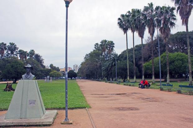 Santos Dummont Parque Farroupilha Porto Alegre Bussola Quebrada