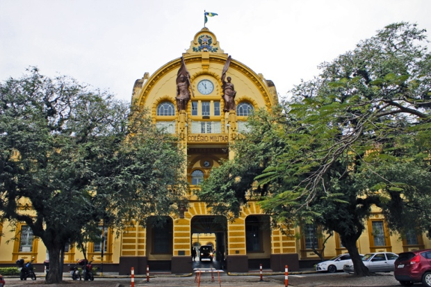 Colegio Militar Porto Alegre Bussola Quebrada