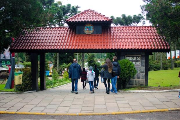 Entrada do Lago Negro de Gramado