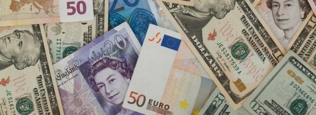 dolar euro Libra esterlina inglaterra a bussola quebrada