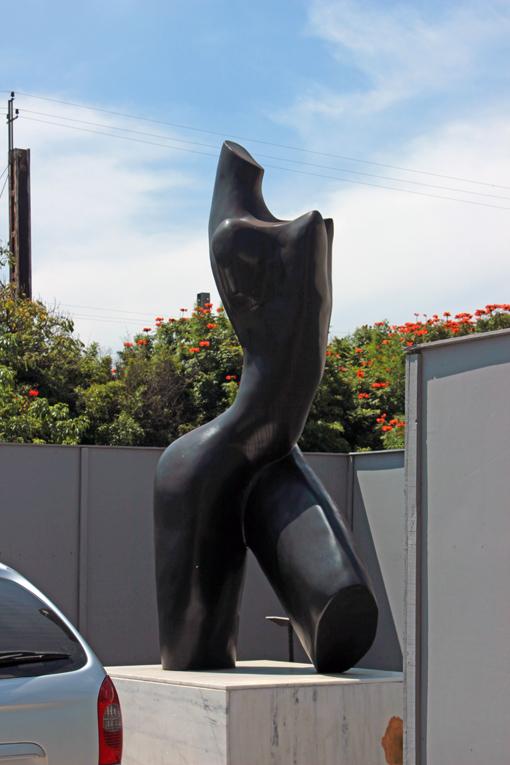 escultura mulher Memorial da América Latina